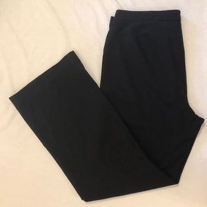 Black Lane Bryant Dress Slacks